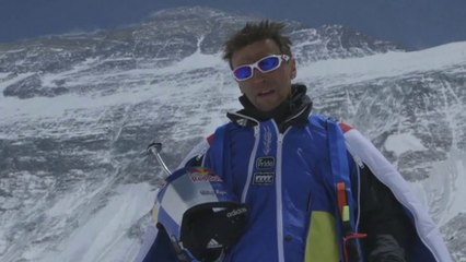 Highest BASE Jump // Valery Rozov - Mount Everest ( EDGEsport)