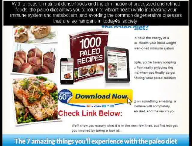 a paleo diet meal plans