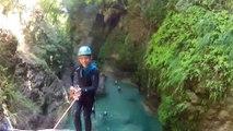 Canyoning Barbaira - Italie - Descente de canyon Nice Alpes Maritimes 06