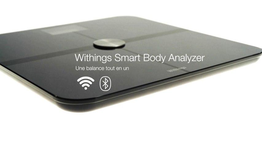 Installation de la balance connectée Withings Smart Body Analyzer WS50. Les objets connectés avec Orange