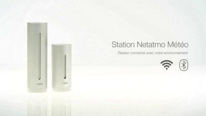 Installation de la station météo connectée Netatmo. Les objets connectés avec Orange