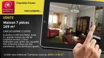 A vendre - maison - CARCASSONNE (11000) - 7 pièces - 169m²