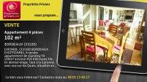 A vendre - appartement - BORDEAUX (33100) - 4 pièces - 102m²