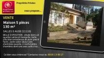 A vendre - maison - SALLES D AUDE (11110) - 5 pièces - 130m²