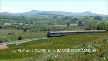LE VENTADOUR, INTERCITES 4492, près de LAQUEUILLE 07.06.2014, vidéo de Fabrice CHAZOT