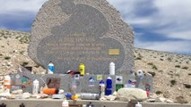 MONT VENTOUX STELE TOM SIMPSON ASCENSION SUD PAR BEDOIN