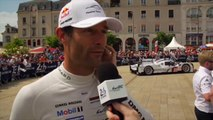 Le Mans 2014: Mark Webber (Porsche) gives his first impressions