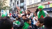 Mondial 2014. Pour les supporteurs de l'Algérie, la fête malgré la défaite