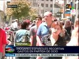 Los españoles se aprietan el cinturón aún más para enfrentar la crisis