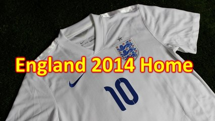 England 2014 Home Jersey Review - Soccer Reviews For You