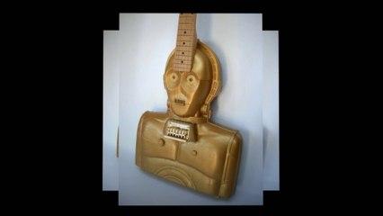 Star Wars temalı gitarlar