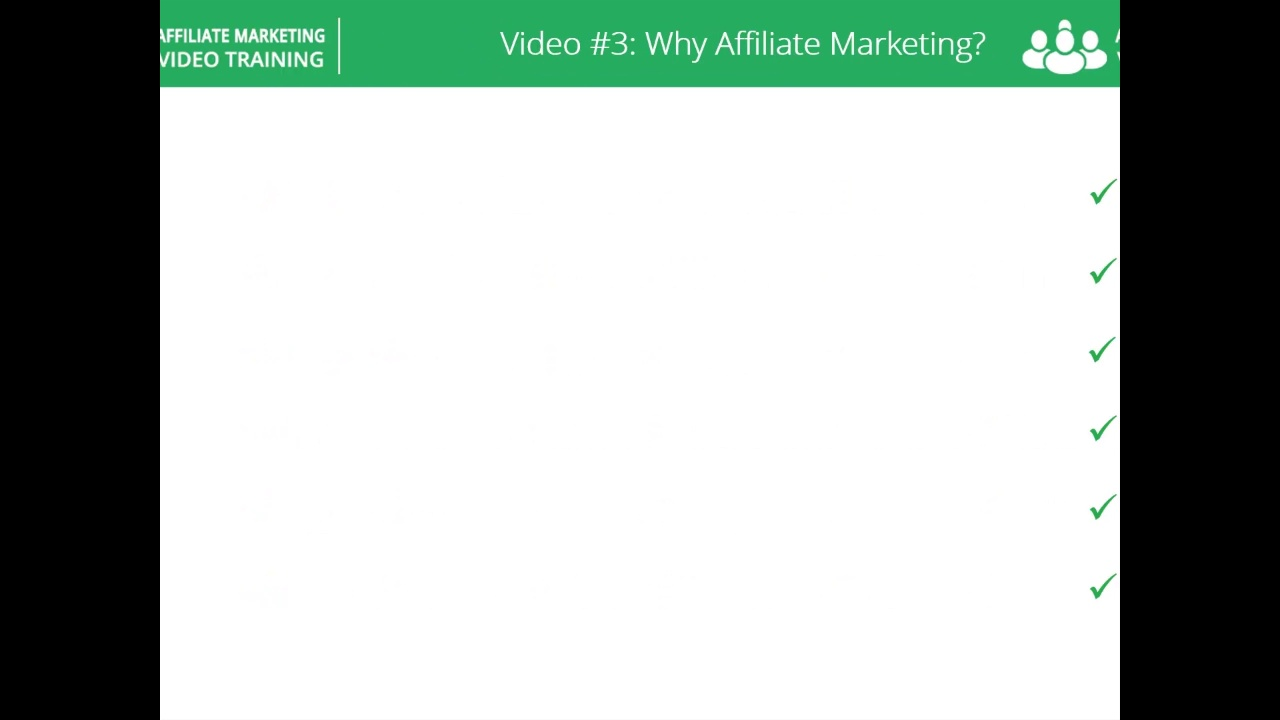 3# Why Affiliate Marketing?