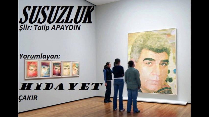 Hidayet ÇAKIR & SUSUZLUK Şiiri - Dailymotion Video
