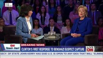 Hillary Clinton on CNN, annotated