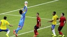 Le gardien mexicain, Ochoa, héros du match Brésil-Mexique