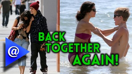 Selena Gomez and Justin Bieber all over Each other - AtHollywood