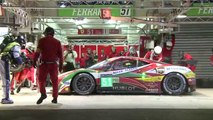 FIA WEC - 24 Hours of Le Mans - Ferrari triumphs # 51