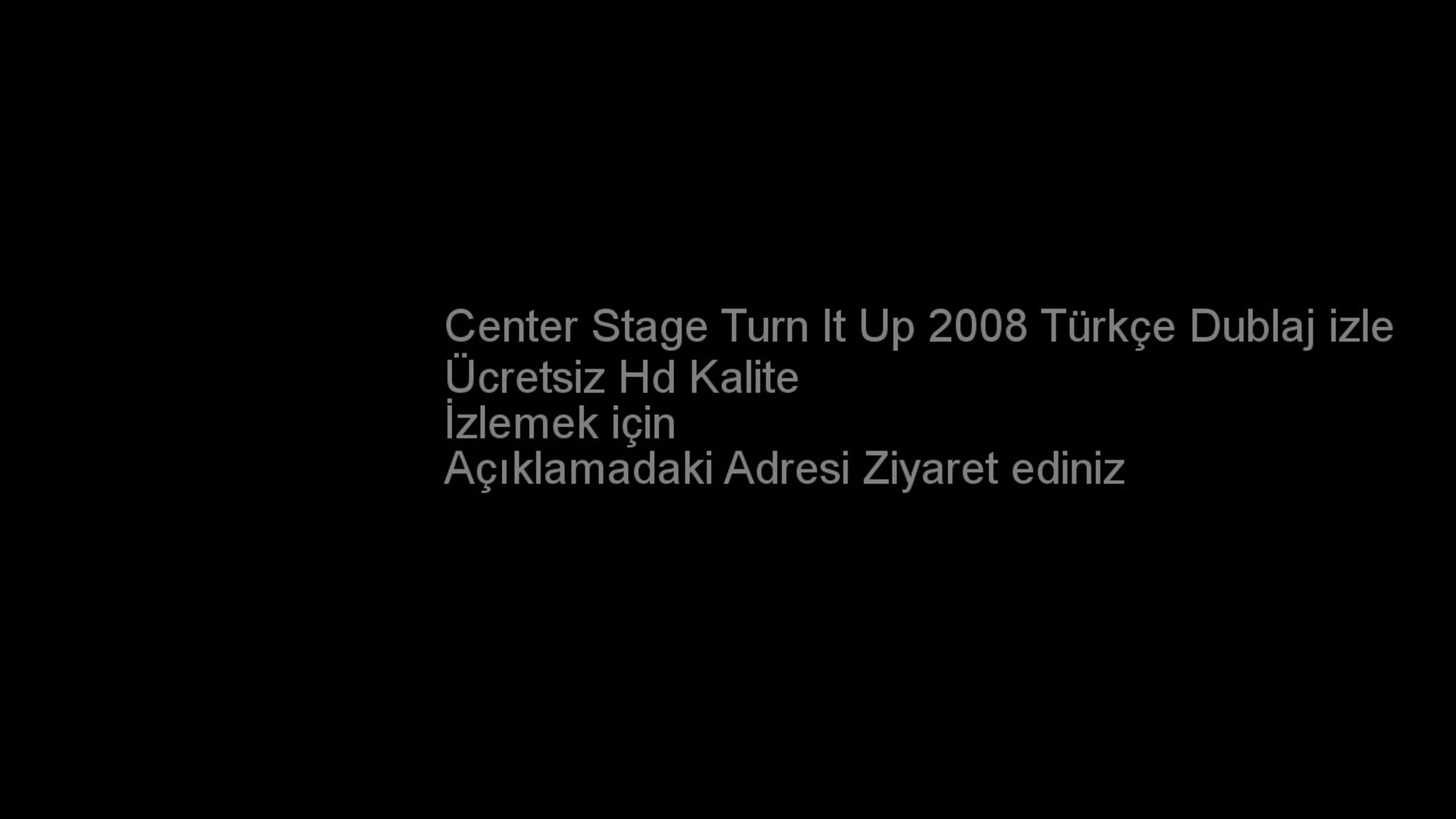 Center Stage Turn It Up 2008 Türkçe Dublaj izle