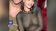 Rihanna, Beyoncé, Nicki Minaj : les tenues transparentes les plus sexy !