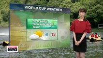 Showers continue in some regions, mostly sunny Thursday