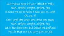 Representing - Ludacris feat. Kelly Rowland (Lyrics on screen)