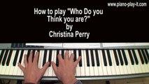 Jar of Hearts Piano Tutorial Part 1 Christina Perri