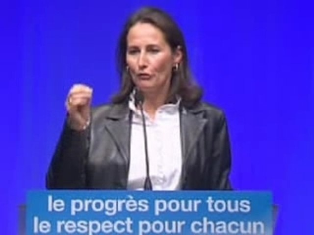 Segolene - Discours de Grenoble