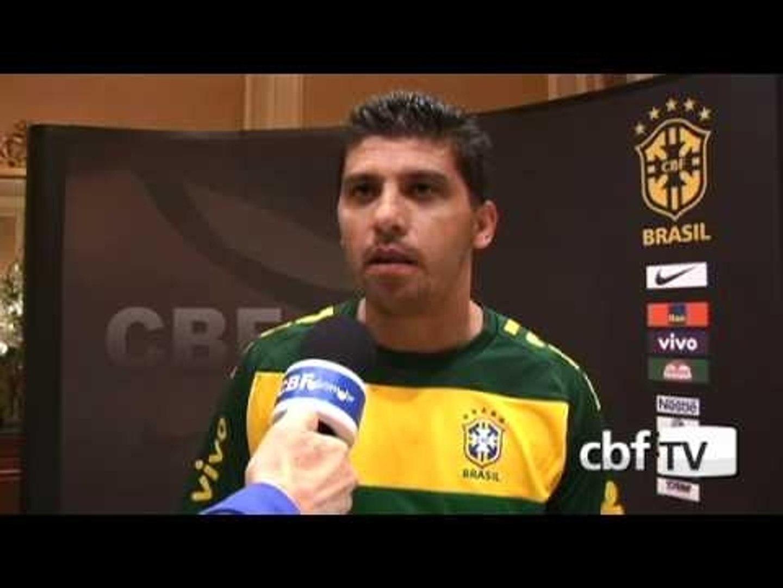 Sidnei Lobo o auxiliar técnico da Seleção Brasileira