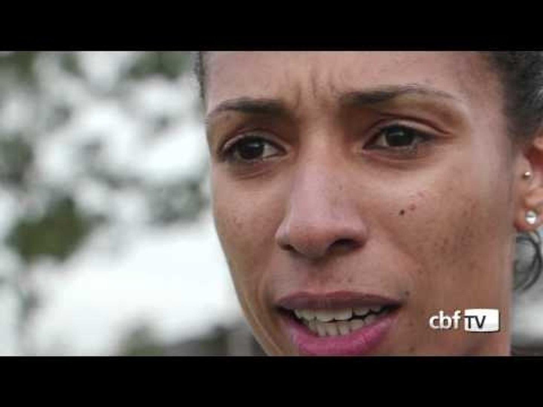 Aline Pellegrino, a capitã das meninas do Brasil