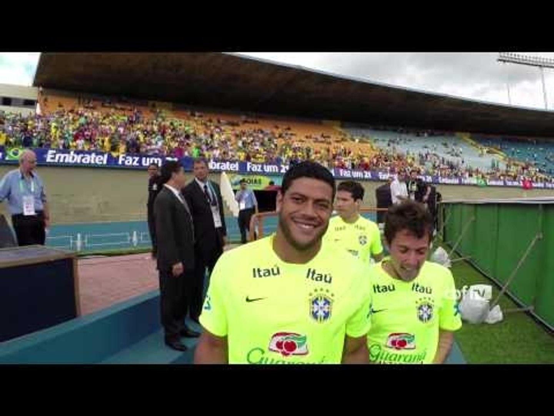 Confira o treino em Goiânia da Seleção Brasileira