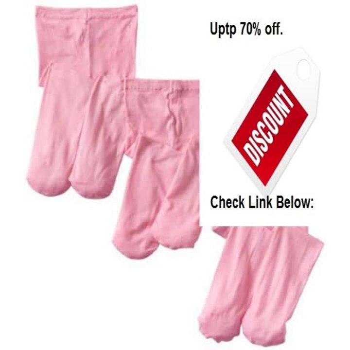 Jefferies Socks Baby Girls Microfiber Rhumba Footless Tights