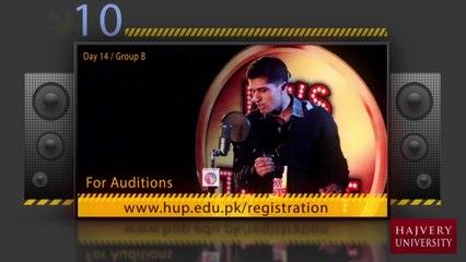 Haider Nawaz - HU Got Talent