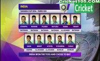 India vs Bangladesh 3rd ODI Cricket Highlights – 19th June – 2014