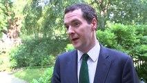 George Osborne insists 'welfare bills are coming down'
