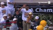 Les San Antonio Spurs de Tony Parker fêtés par des milliers de fans