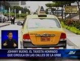 Taxista guayaquileño devolvió $4.000 que pasajero dejó olvidado