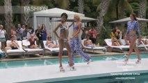 "Fashion Show ""NANETTE LEPORE SWIM"" Miami Fashion Week Swimwear Spring Summer 2014 HD by Fashion Channel"