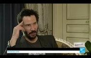 """Keanu Reeves : """"Matrix, cela fait partie des jours les plus heureux de ma vie"""""""