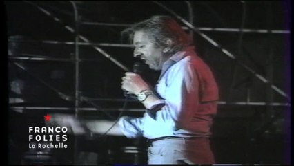 Francofolies 1988 / Serge Gainsbourg - Bonne and Clyde (live)