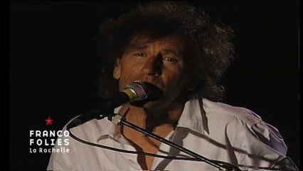 Francofolies 1994 / Alain Souchon - Foule Sentimentale (live)