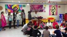(Maurepas) CM2 école élémentaire les Friches Cup song