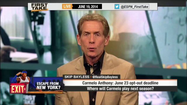 Where Will Carmelo Anthony End Up - ESPN First Take