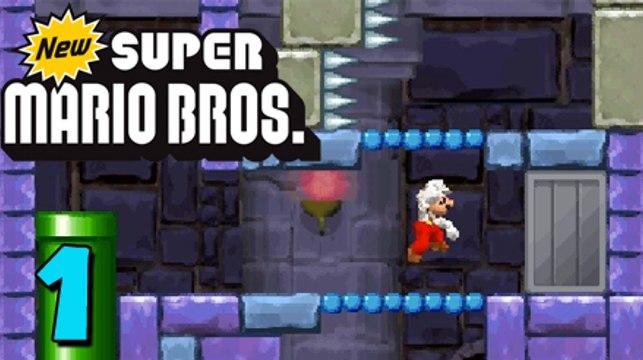 German Let's Play: New Super Mario Bros ★ #1