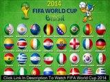 Watch FIFA World Cup 2014 HONDURAS VS ECUADOR LIVE Streaming Online