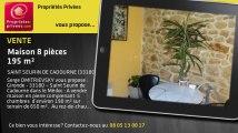 A vendre - maison - SAINT SEURIN DE CADOURNE (33180) - 8 pièces - 195m²