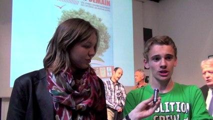 Lire pour Demain 2013-14 : Charlotte Bousquet et Xavier Renou rencontrent les lycéens de Rhône-Alpes