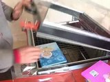 Máy cắt dán màng co POF 2 in 1, máy rút màng co POF, máy rút màng co tự động, máy đóng gói màng co