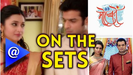 On the sets of 'Yeh Hai Mohabbatein' - AtTellywood
