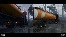 Comparer les trailers de Grand Theft Auto 5 sur PS4 et PS3