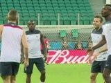 Mondial 2014: les Bleus sont prêts à affronter la Suisse - 20/06